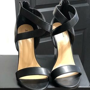 Just Fab Vanica Wedge Heel Sandal